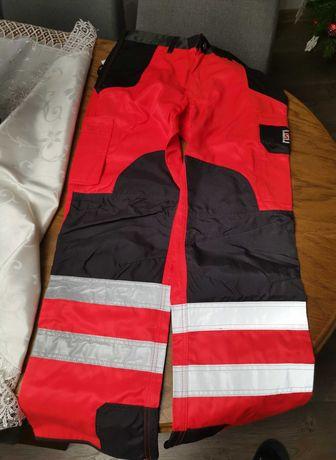 Spodnie robocze Strabag 44  odblaskowe drogowe