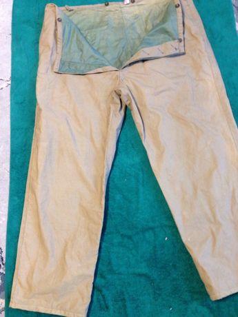 spodnie ocieplane duze 120 pas