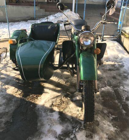 Продається мотоцикл Урал, з доками.