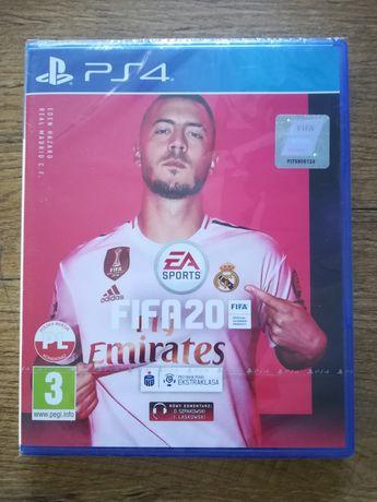 Nowa zafoliowana gra FIFA 2020 playstation 4 ps4