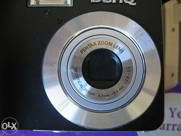 Benq dc c740i - lente pentax
