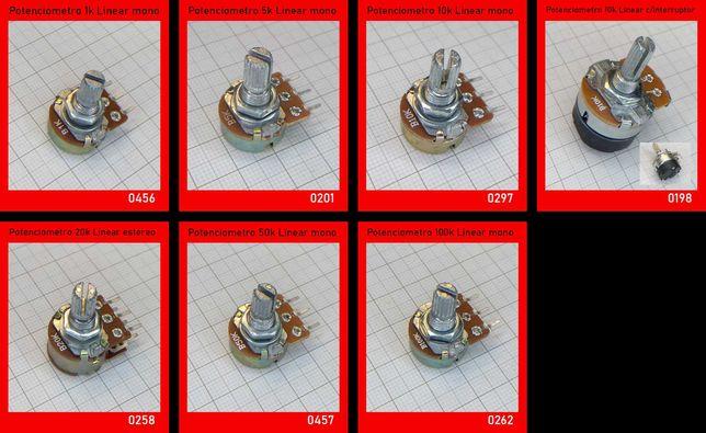 Potenciómetros / Trimpot / Encoder