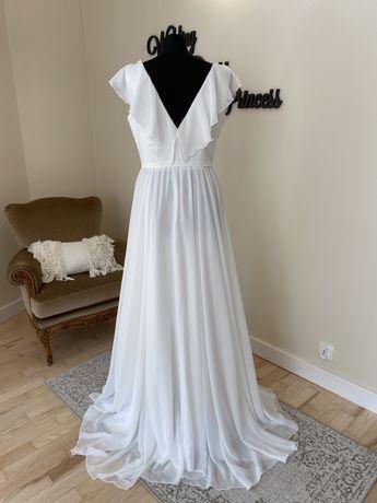 Tanio!Suknia ślubna Nowa r 44