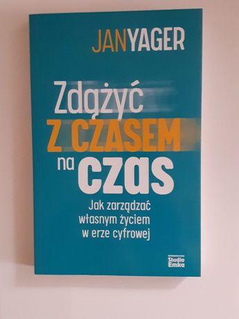 Książka Zdążyć z czasem na czas Jan Yager EMKA Poradnik