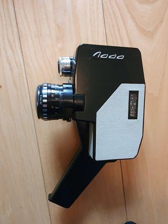 Kamera analogowa filmowa Łada 8mm z akcesoriami retro zabytkowa