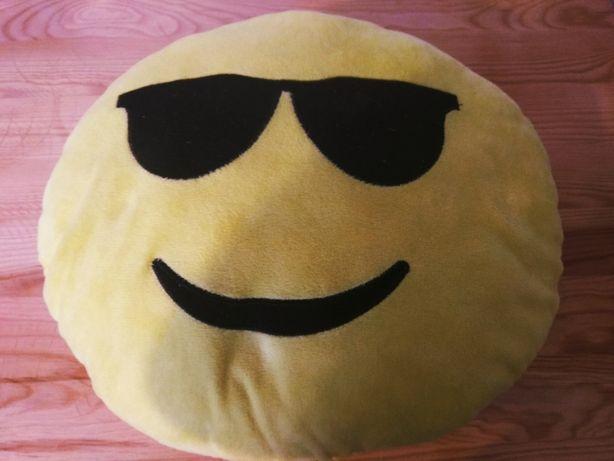 Poduszka emoji żółta