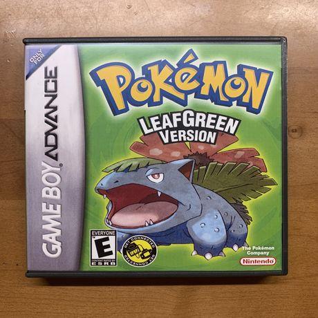 Pokémon LeafGreen + caixa (Réplica)
