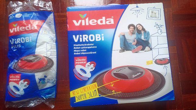 Robot Virobi - limpa chão NOVO