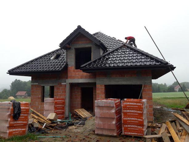 Dachy kompleksowo, więźby, remonty, okna dachowe, podbitki