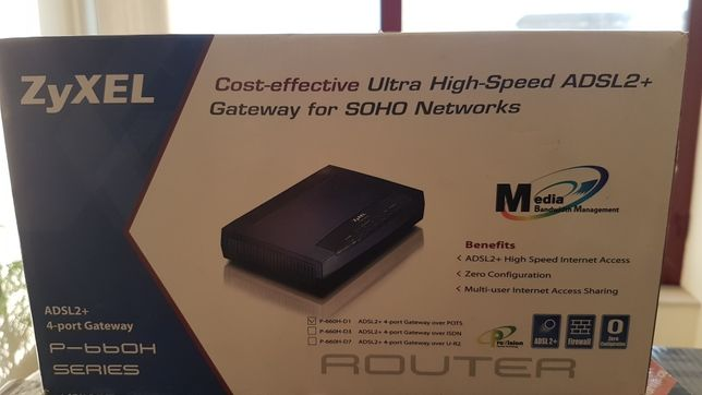 Router Adsl 2+ ZyXel