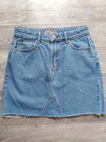 Джинсовая юбка на девушку размер M