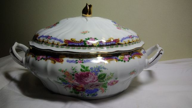 Terrina porcelana T.Limoges