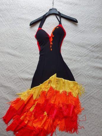 Sukienka do tańca towarzyskiego