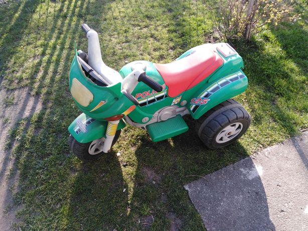 Motorek na akumulator!