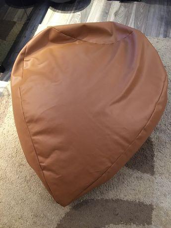 Poduszka skórzana do siedzenia