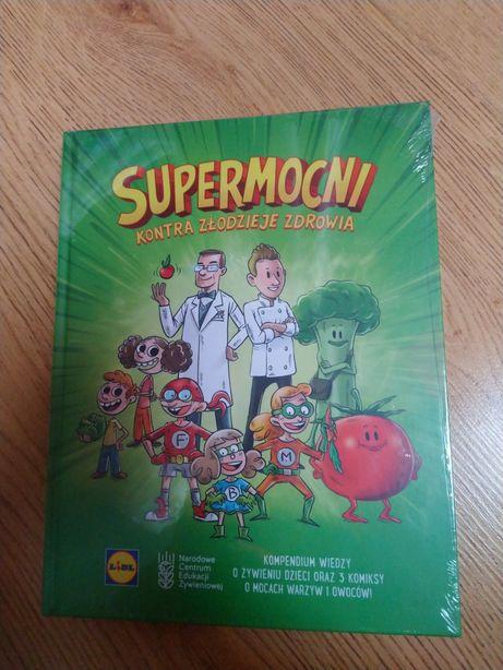 Książka komiks Lidl Supermocni