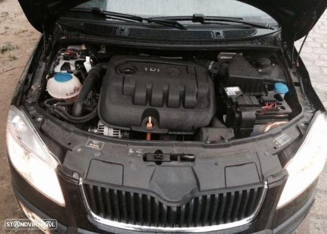 Motor Skoda Fabia Octavia Roomster Superb 1.9tdi 105cv BKC BXE BLS Caixa de Velocidades Arranque