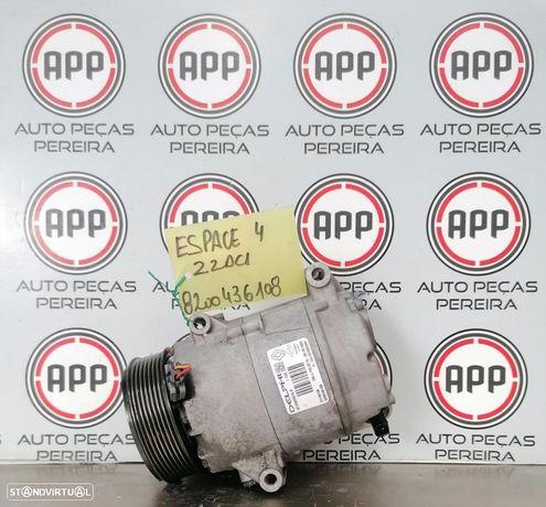Compressor ar condicionado Renault Laguna 2, Espace 4 2.2 DCI referência 8200436108