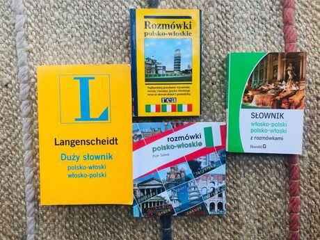 4 słowniki włosko - polskie