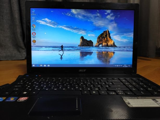 Игровой ноутбук Acer 5742G Core i3 4*2,4Ghz/4Gb/640Gb/Radeon HD 5470/D