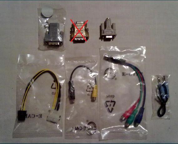 Переходники, кабели, шлейфы