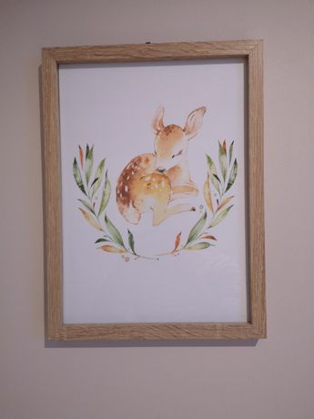 Obraz Jelonek z ramką
