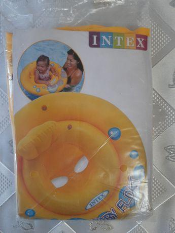 Надувной детский круг
