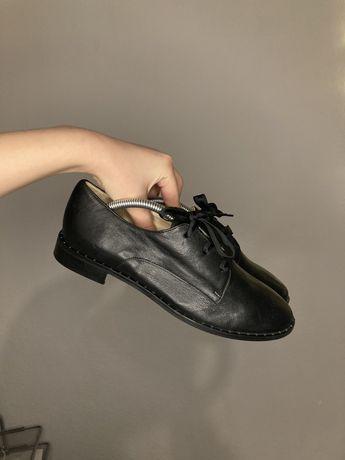 38 San Marina buty skórzane