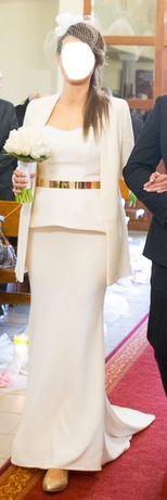 Suknia ślubna, rozmiar 38