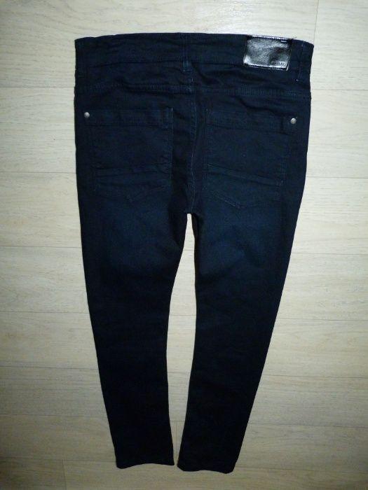 Темно-темно-синие скинни, джинсы Next указано 14 лет Одесса - изображение 1