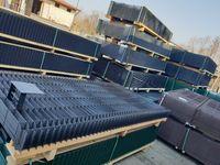 Panel ogrodzeniowy 1230 x 2500 fi 5 - 51 prętów pionowych :)