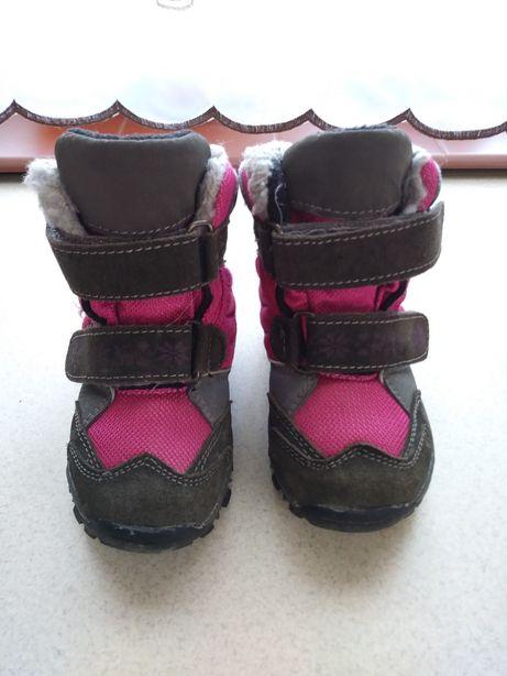 Buty zimowe. R.23. Dziewczynka