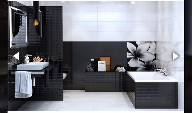 Плитка декор Opoczno Pret A Porte Flower Grey Composition 750*750