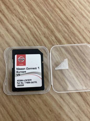NISSAN Cartão GPS Connect 1 Europa v9