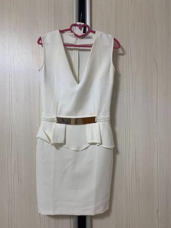 белое вечернее платье POESSE