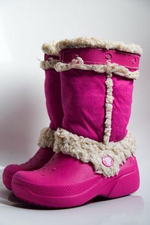 Crocs kozaki zimowce 8 c 9 25/26 buty kalosze