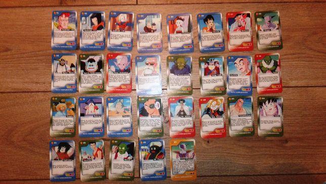 karty Dragon Ball Z Chio kolekcjonerskie 1-29