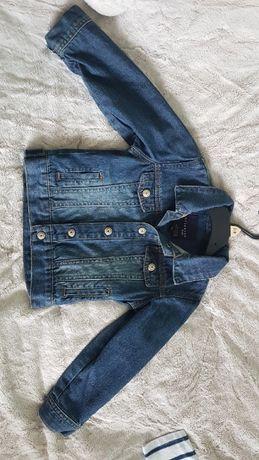 kurteczka jeansowa dziecięca Reserved Kids 104cm-stan BDB