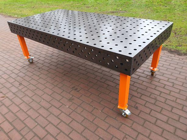 Stół spawalniczy montażowy 2,4 x 1,2 2400 x 1200 z bokami blat 15mm