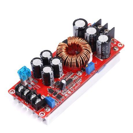 1200W 20A DC повышающий преобразователь модуль питания 8-60V до 12-83V