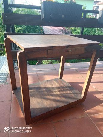 Stolik drewniany z lat 60tych