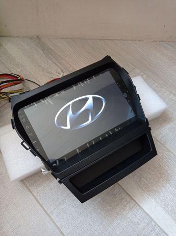 Штатная магнитола для Hyundai Santa Fe IX45 2013-2017 Android 10 GPS