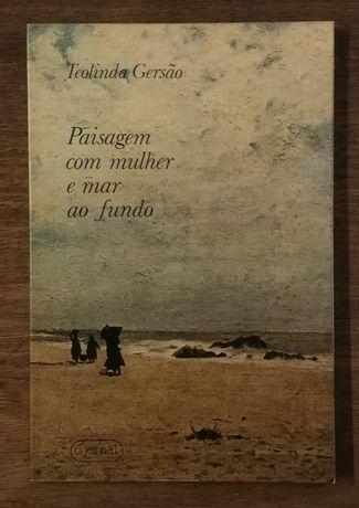 paisagem com mulher e mar ao fundo, teolinda gervásio, o jornal