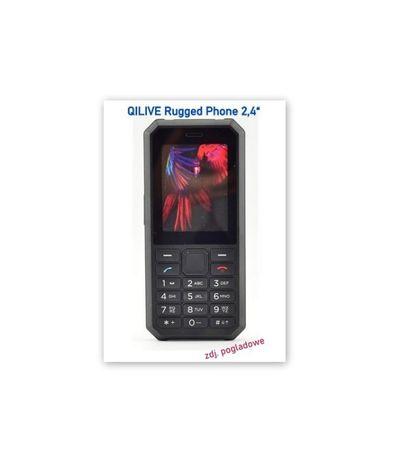 NOWY wytrzymały telefon kom QILIVE Rugged Phone 2,4 DualSim
