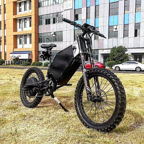 Электробайк электровелосипед электромотоцикл 72v 8000W