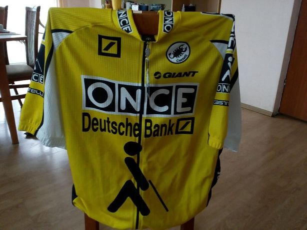 Koszulka kolarska profesjomalnej grupy ONCE-Deutsche Bank -Giant