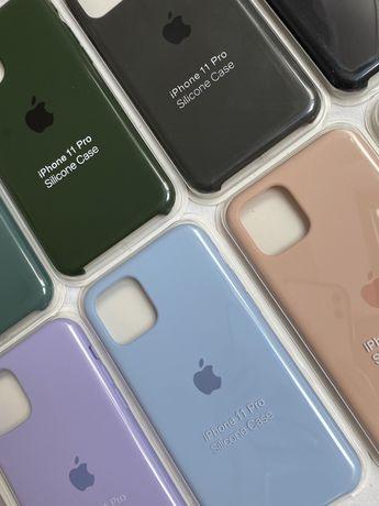 etui liquid silicon case iphone 11 / 11 pro / 12 / 12 pro
