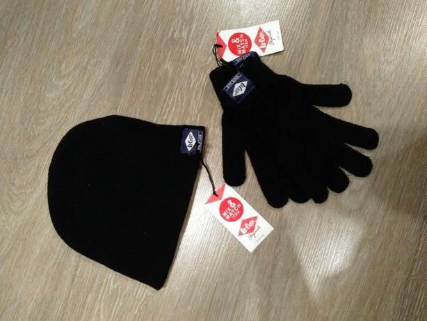 набор шапка + перчатки 450 рублей