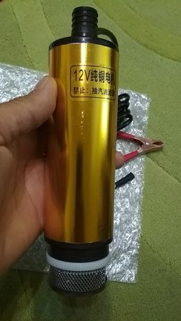 Bomba 12v, submersível, Nova