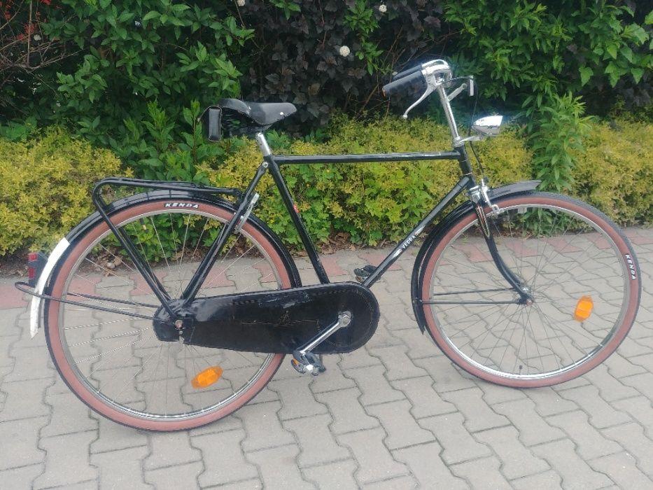 Dopieszczony miejski rower Holender marki Vedra retro Warszawa - image 1